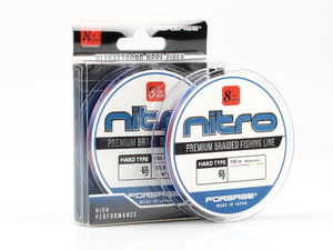 Шнур Forsage Nitro 8 Braid Hard Type 150 m 3 Colors # 0.4